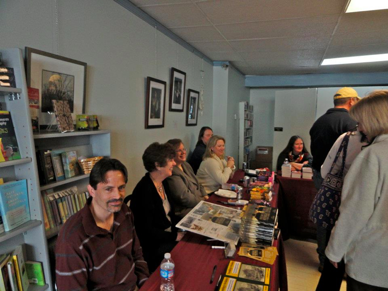 Dec 3rd. 2011 - Book Signing at Turning the Page Bookstore